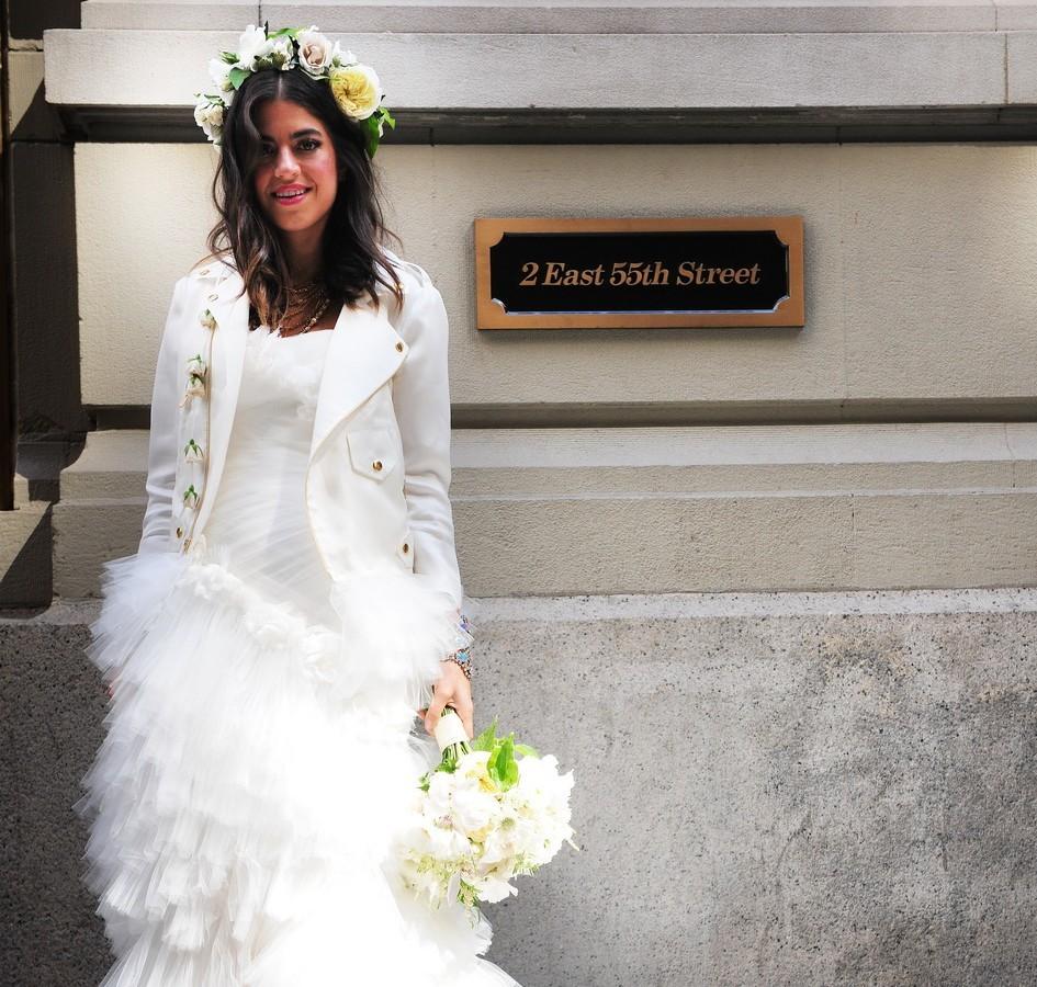 7a278d94590 Así vistieron las instagrammers más influyentes del mundo el día de su boda