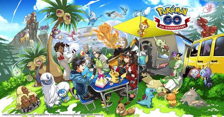 Pokemon Go Segundo Aniversario