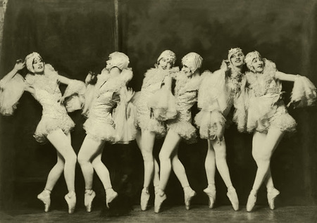 Alfred Cheney Johnston, el retratista de las Ziegfeld Girls