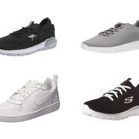 Chollos en tallas sueltas de  zapatillas Skechers, Nike o Under Armour en Amazon
