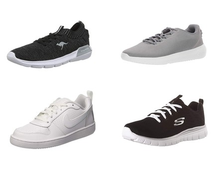Chollos en tallas sueltas de  zapatillas Skechers, Nike o Under Armour en Amazon