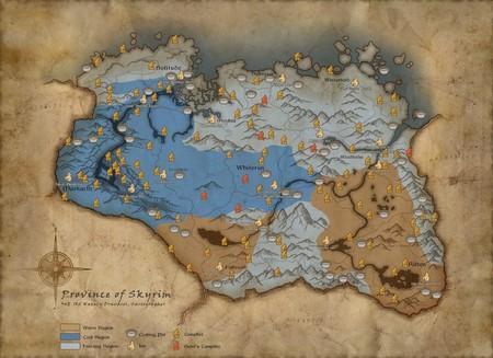 Skyrim Survival Mapa