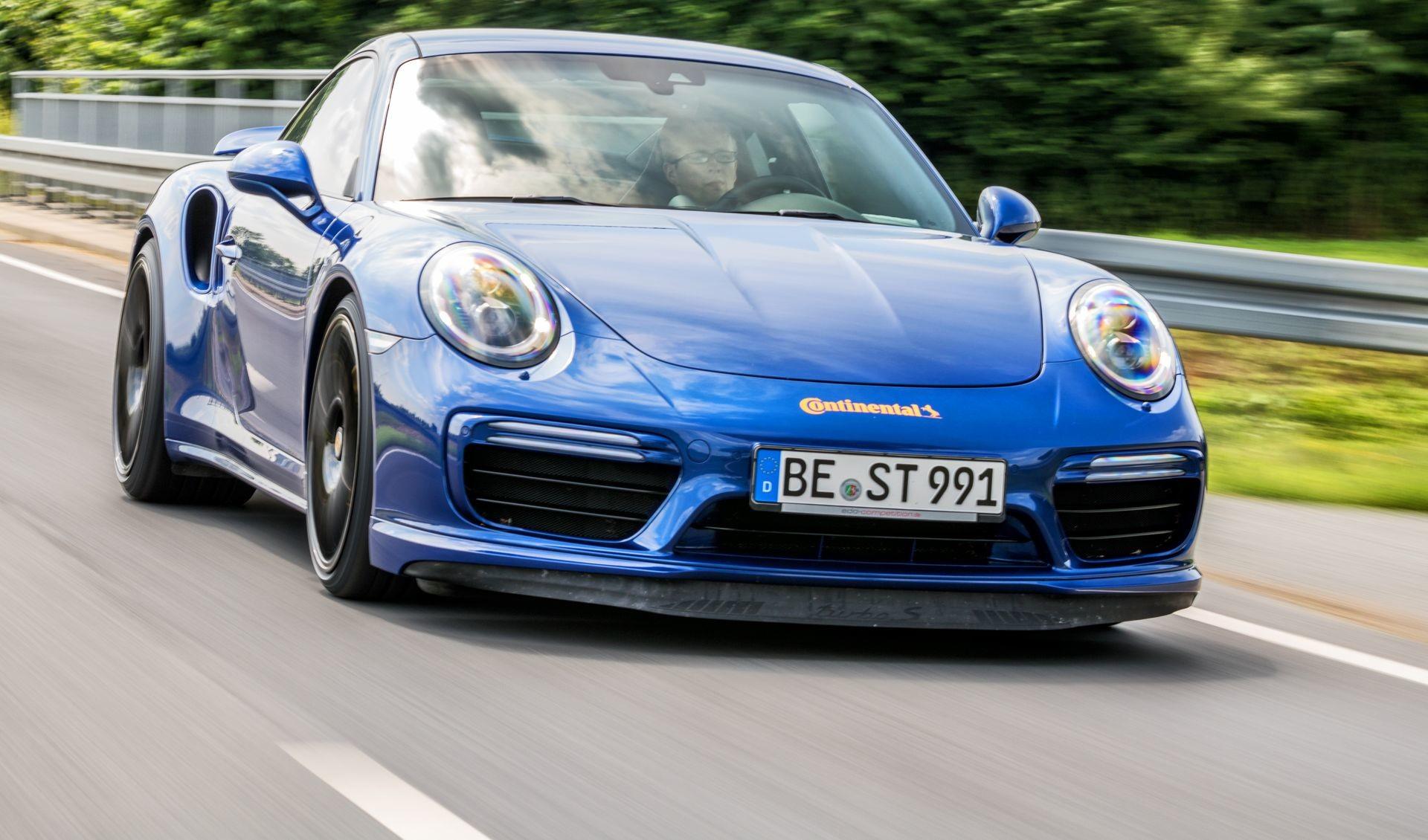 Foto de Porsche 911 Turbo S Blue Arrow (24/25)