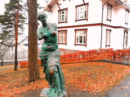 Escultura de Dalí en Oslo