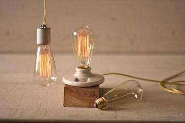 Tres ideas para decorar con bombillas tipo Edison