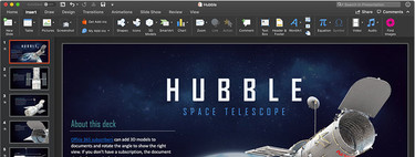 Las aplicaciones de Microsoft Office ya son compatibles con el modo oscuro de macOS Mojave