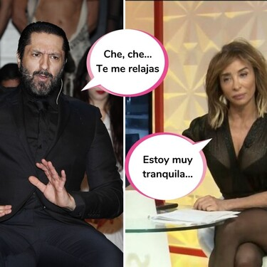 Esta es la contundente respuesta de María Patiño a las fuertes amenazas de Rafael Amargo (y con muy poquitas palabras)