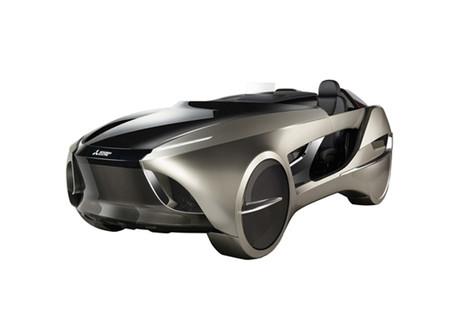 Eléctrico, autónomo y conectado: así es EMIRAI 4, el nuevo prototipo de Mitsubishi Electric