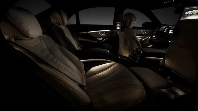 Mercedes S-Class 2013 interior