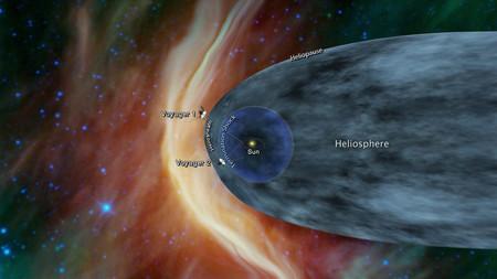 450 1000 La Voyager 2 está a punto de dejar atrás el Sistema Solar para adentrarse en el espacio interestelar