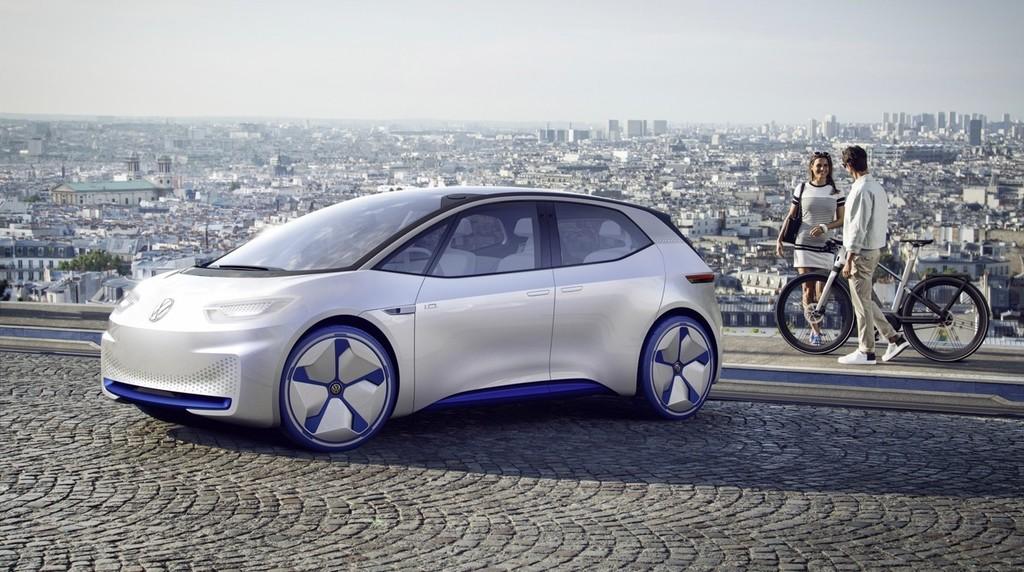 Volkswagen ID eléctrico diseño Apple
