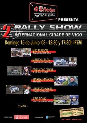 Lluvia de estrellas en el Racing Show Cidade de Vigo
