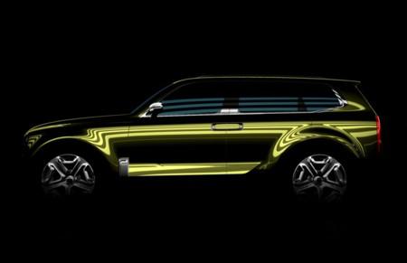 KIA presentará en Detroit el prototipo de un SUV más grande que el Sorento