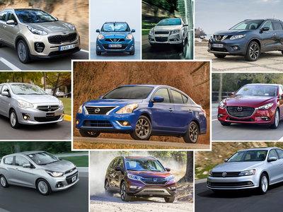 Los 22 autos más vendidos en México durante 2016, un año récord para la industria