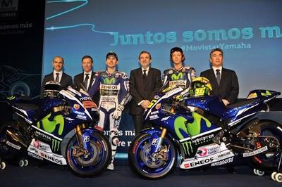 Asistimos a la presentación mundial equipo Movistar Yamaha MotoGP