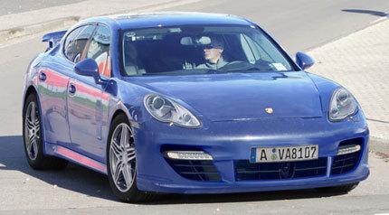 Porsche Panamera, ¿al descubierto?