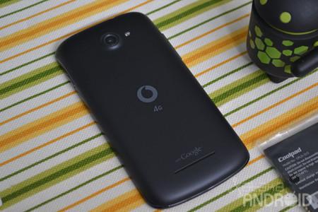 Vodafone Smart 4G, carcasa trasera