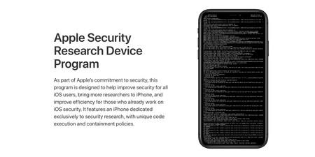 Apple Security Device Program