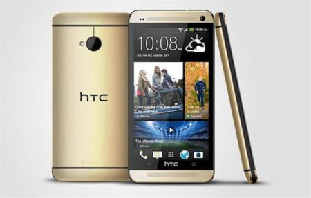 HTC One lanza una nueva versión con carcasa dorada
