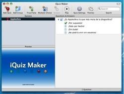 iQuiz Maker: Creando preguntas para iQuiz