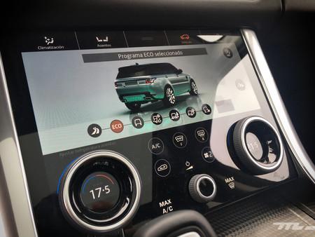 Range Rover Sport PHEV pantalla
