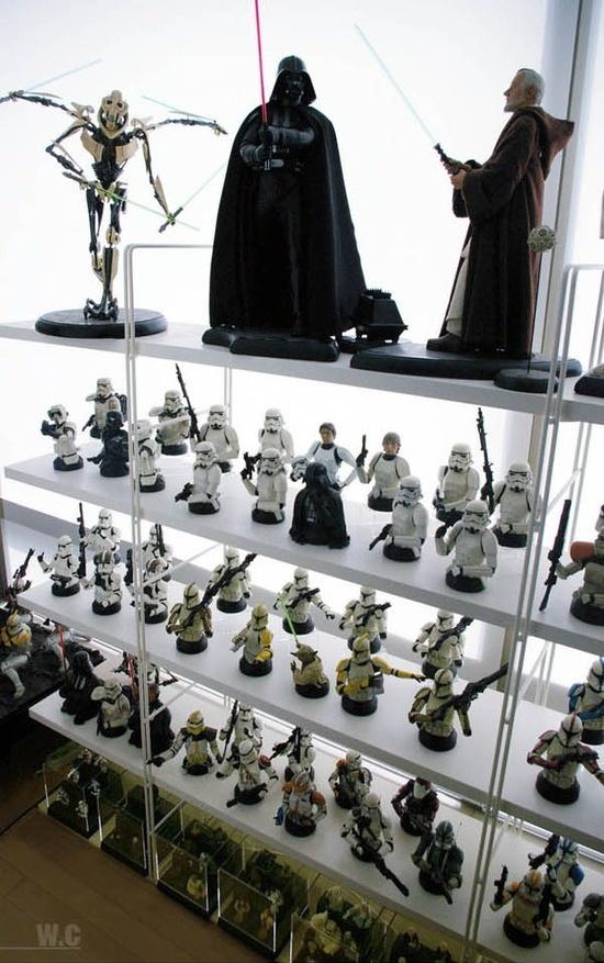 Foto de La casa de un fan de Star Wars con gusto (3/14)