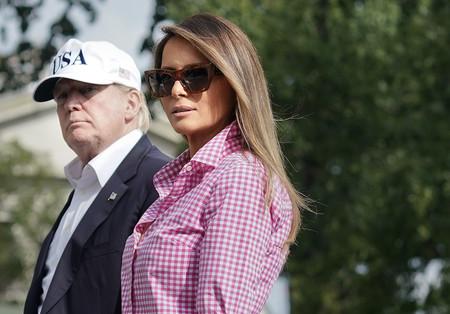 Llegó el día en el que Melania Trump no roza la perfección, con este look demuestra que ella también puede ser sport
