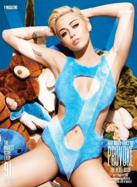 Miley Cyrus vuelve a las andadas, ¿o es V Magazine quién la lía parda?