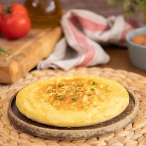 El truco para preparar una tortilla de patatas en menos de 20 minutos