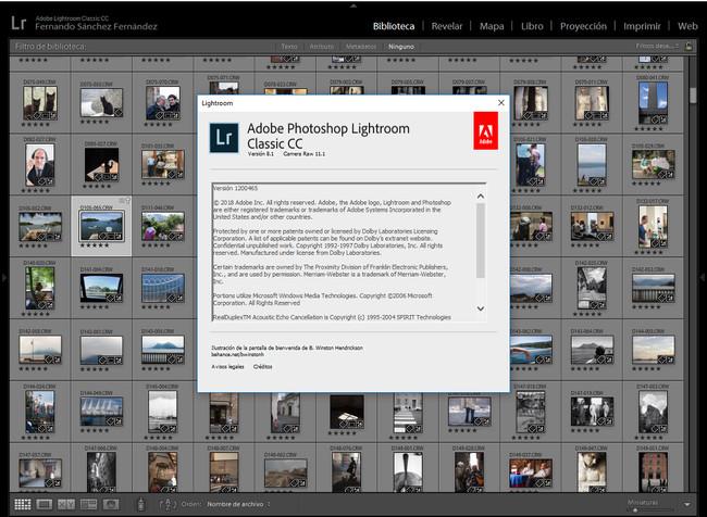 Lightroom Classic CC 8.1 y Camera RAW 11.1, las últimas actualizaciones de Adobe