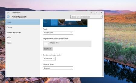 Cómo evitar que el cambio automático de fondos de pantalla se detenga al usar el portátil con batería