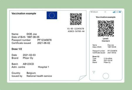 Uno de los aspectos del Certificado COVID Digital de la Unión Europea