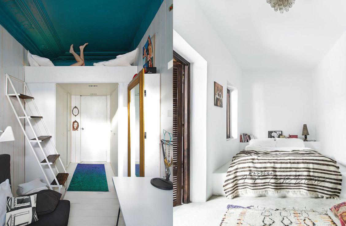 17 ideas para organizar de la mejor manera un dormitorio for Como organizar un piso pequeno