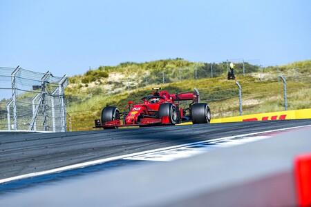 Sainz Zandvoort F1 2021