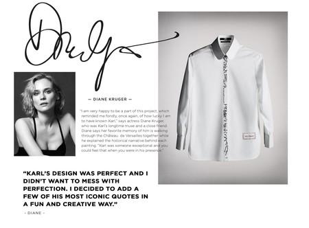 Siete Artistas Reinventaran La Iconica Y Elegante Camisa Blanca En Honor A Karl Lagerfeld 05