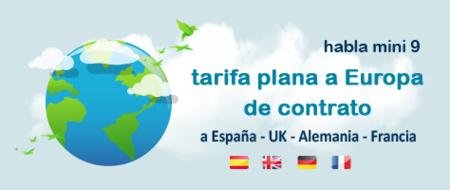 Happy Móvil lanza un bono de llamadas a fijos y móviles de España, Gran Bretaña, Francia y Alemania