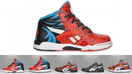 Zapatillas Reebok de Spiderman
