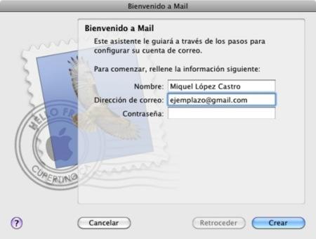 Configura cuentas de correo manualmente en Mail y Snow Leopard