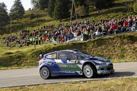 Rally de Alsacia 2012: una salida de pista de Petter Solberg casi se convierte en tragedia