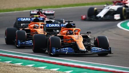 Sainz Imola F1 2020 2