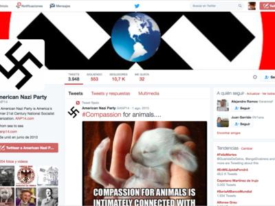 Twitter dice luchar contra el radicalismo, pero no parece que lo haga de forma ecuánime