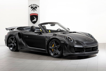 Porsche 911 Stinger GTR Carbon Edition: 750 CV para el Turbo S aderezados con oro