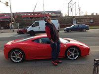 Dolorpasión™: Afrojack estrella su Ferrari 458 Italia