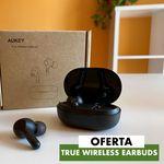 Los auriculares True Wireless Earbuds de Aukey, una alternativa económica a los AirPods, hoy por sólo 20 euros en Amazon