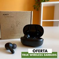 Los auriculares True Wireless Earbuds de Aukey, una alternativa económica a los AirPods, hoy por sólo 20 euros en Amazon