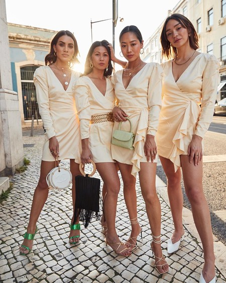 El street style nos aporta ideas de cómo vestir para una fiesta de noche en verano