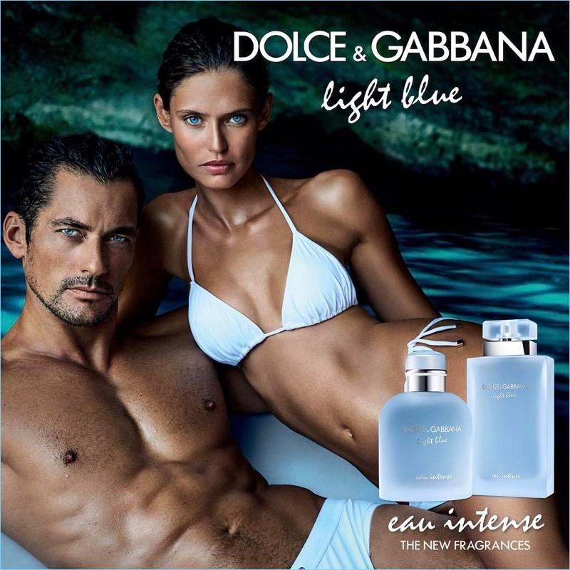 Dolce Gabbana Light Blue Eau Instese Reune A Bianca Balti Y David