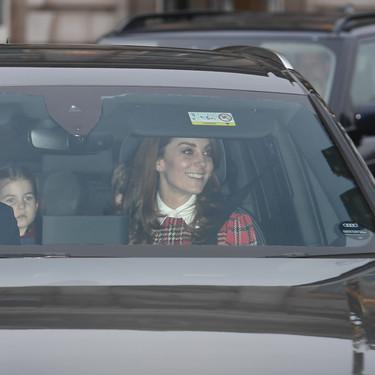 Kate Middleton tiene el vestido de cuadros escoceses perfecto para Navidad (y nosotros tres ideas low-cost para copiarlo)