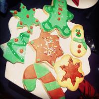 Galletas de Navidad para hacer con niños (II): decorando galletas con fondant