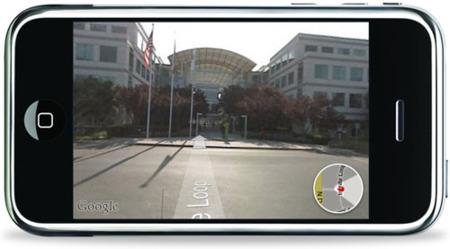 Así es el Street View del iPhone 2.2